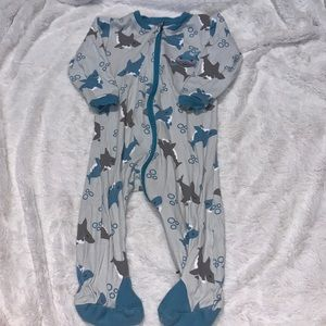 Tuffy shark footie (2 for $10)